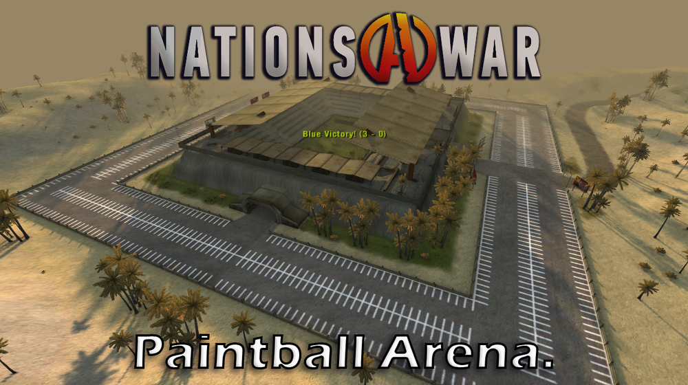 BF2 Nations at War Mod - Paintball Arena 16 Bot Singleplayer.png