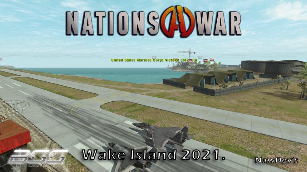 BF2 Nations at War Mod - Wake Island 2021 16 Bot Singleplayer.png